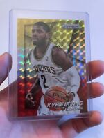 2014-15 Panini Prizm Prizms Yellow and Red Mosaic Card #18 Kyrie Irving Hot