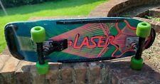 "New listing Vintage Dominion ""Laser"" Skateboard, 1980s"