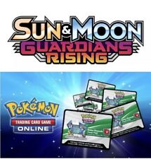 36 Guardians Rising Codes Pokemon Sun & Moon TCG Online Booster MESSAGED FAST!