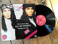 MILLI VANILLI ALL OR NOTHING LP 33T VINYLE EX COVER EX