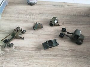 Britains AA gun on trailer,  trailer, truck spares. Parts, repair  Pre 1960s