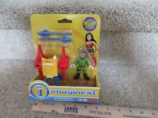 Fisher Price Imaginext Wonder Woman Steve Trevor Island Defense Help me Save me!