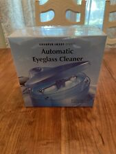 BRAND NEW - Sharper Image Automatic Eyeglass Cleaner