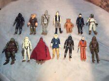 14 Vintage Star Wars Figures 1977 - 1984 Kenner