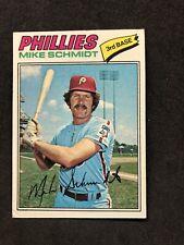 Mike Schmidt 1977 Topps
