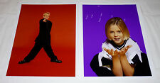 x2 AARON CARTER 8x10 PHOTOS RARE CRUSH ON YOU CUTE BOY YOUNG MINT CONDITION