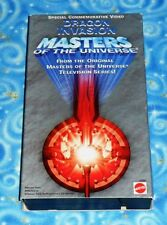 He Man and the Masters of the Universe Dragon Invasion VHS Tape Excellent Tested