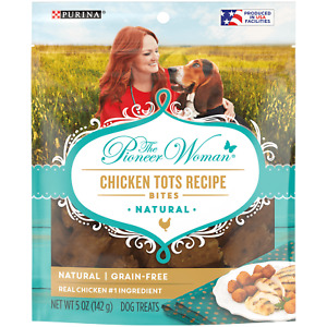 Purina The Pioneer Woman Chicken Tots Recipe Bites Dog Treats 5 oz