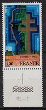 """79C** Timbre+marge 1977 """"AU GÉNÉRAL DE GAULLE"""" n°1941 Neuf**MNH TBE"""