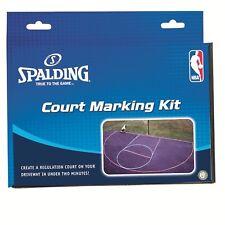 New Spalding NBA Regulation Driveway Basketball Court Marking Kit (8375) System