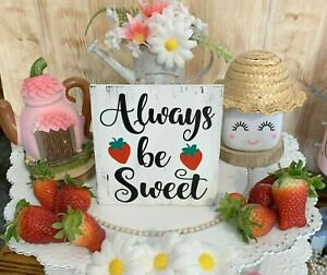 Strawberry Home Decor Plaques Signs For Sale In Stock Ebay