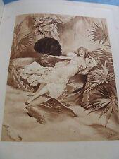 REY-ROIZE Le BREVIAIRE D'AMOUR 1897 EO Illustré LUCIUS ROSSI / Hollande EROTISME