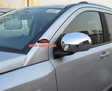 Chrome side mirror cover trim for Jeep Compass 2007-2017