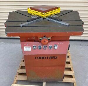 "TARASCONI ET-250 PRO NOTCH CORNER NOTCHER 10"" X 10"" CORNER NOTCHING MACHINE"
