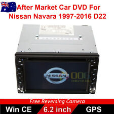 "6.2""Double 2 DIN Car DVD Player Radio Stereo GPS for Nissan Navara 1997-2016 D22"