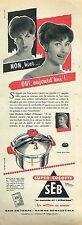 C- Publicité Advertising 1958 Autocuiseur super-cocotte SEB