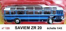 SAVIEM ZR 20  année 1958 Autobus et Autocar du Monde 1/43 Neuf n° 120