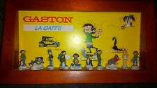 GASTON LAGAFFE - COFFRET FÈVES - FRANQUIN COLLECTOR BD collection de 10 fèves.