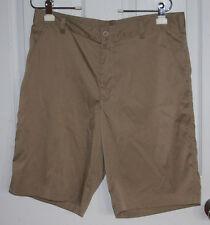 Nike Golf Shorts 32 Tan Dri-Fit Polyester Spandex Blend Stretchy