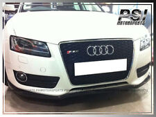 2013-2015 Audi A5 P Style Carbon Front Bumper Lip Standard Model Only