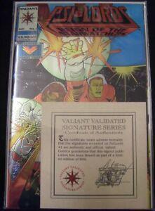 PSI-LORDS 1 VALIANT COMIC SIGNATURE SERIES LTD 800 BEDARD GIORDANO LEEKE 1994 NM
