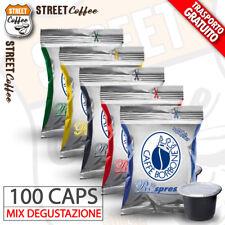 Assaggio Mix 100 Capsule Borbone Nera Rossa Blu Oro Respresso Nespresso gratis