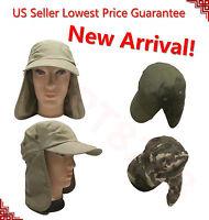 1989e21d4cc2c Men s Outdoor Protection UV-proof Windproof Fishing Cap Neck Face Flap Hat  SJP