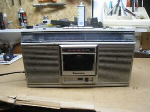 Vintage Panasonic AM FM Stereo Radio Cassette Player Boom Box RX-5020 - Works !