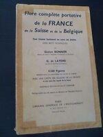 Flora Complete Della Francia G.Bonnier&g.layens 5338 Figure A Parigi IN8 1962