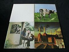 PINK FLOYD JOB LOT 4 LP'S THE WALL/UMMAGUMMA/ANIMALS/ATOM HEART MOTHER VG+ CON