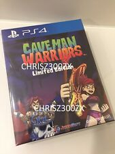 Caveman Warriors Collector's Limited Edition PS4 Physical Sony Playstation 4