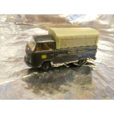 Brekina 33903 VW T2 Truck with Canopy Dark Blue DB 1:87 HO Scale