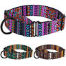 Training Dog Collar Safety Nylon Martingale Collars for Dogs Pet Medium Large