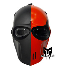 MAXNETO Airsoft Mask Helmet Army of Two Paintball BB Gun Protective Deathstroke