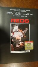 Reds (DVD, 2006, 2-Disc Set, 25th Anniversary Edition)