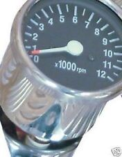 Marcadores e indicadores de color principal cromo para motos Yamaha