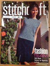 Vintage Stitchcraft Magazine. July 1966