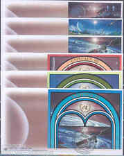 UNITED NATIONS UNISPACE III  SET OF SIX FIRST DAY COVERS AS SHOWN