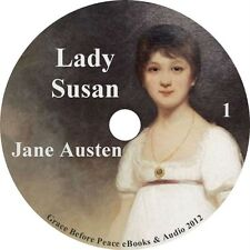 Lady Susan, by Jane Austen a Classic Audiobook on 1 MP3 CD