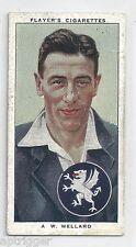 1938 John Player & Sons (31) A. W. WELLARD Somerset & England