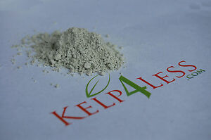 2 lb Zeolite Powder ULTRA FINE POWDER Organic Local Fresh Natural Mineral Dust