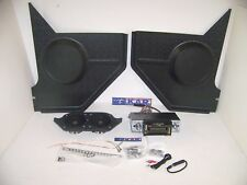 1967 1968 MUSTANG RADIO/iPOD COMPLETE ECONOMY SOUND SYSTEM KIT FOR CONVERTIBLES