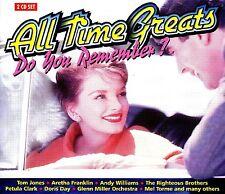 ALL TIME GREATS ~ 2CD * BOBBY VINTON,ALBERT HAMMOND,LIZA MINNELLI,PATTI PAGE ETC