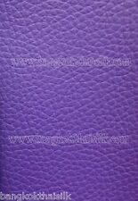 PURPLE FAUX LEATHER SOFT FABRIC for UPHOLSTERY SEAT STOOL BOOK JACKET BTY
