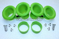 KAWASAKI  ZX-10R VELOCITY STACKS AIR FUNNEL BELL MOUTH SET DOUBLE CONFIGURATION