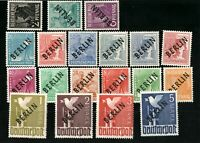 Germany Berlin - Black overprint MNH Michel 120 SIGNED
