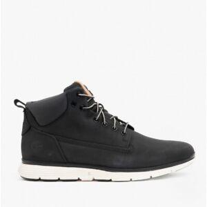 Timberland KILLINGTON CHUKKA Mens Sustainable Leather Lace-Up Ankle Boots Black