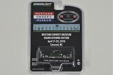 1/64 - 1968 Ford Mustang Fastback by Greenlight - Owner's Museum Grand Opening