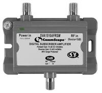 CommScope Two-way Mini Subscriber Amplifier, 15 dB forward, 10 dB SVA1510AFRSM