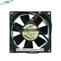 80mm 25mm New Case Fan 12V DC IP55 Waterproof 60CFM 2 Wire Cooling Ball Brg 311*